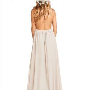 25984ad9e7c Show Me Your MuMu Dresses - Show me your mumu Luna halter gown